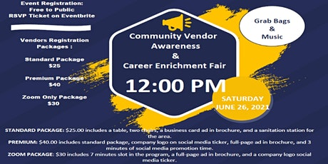 Community Vendor Awareness & Career Enrichment Fair tickets