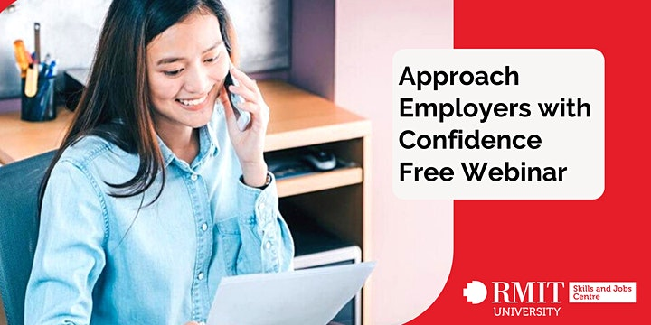 Approaching Employers with Confidence Webinar for Young People image