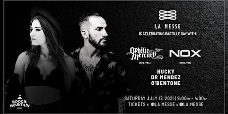 La Messe (Sydney) is celebrating Bastille Day with Ophélie Mercury & N.O.X tickets