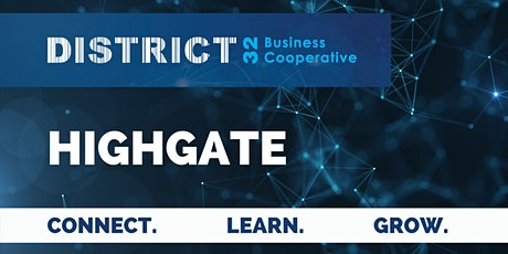 District32 Business Networking Perth – Highgate - Wed 30 June tickets