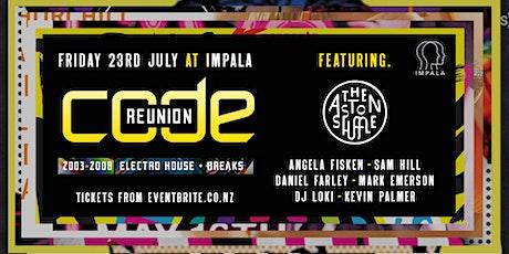 CODE Reunion 2021 | Pt 2 | The Aston Shuffle & Angela Fisken | 2004-2009 tickets
