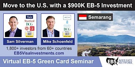 U.S. Green Card Virtual Seminar – Semarang, Indonesia tickets