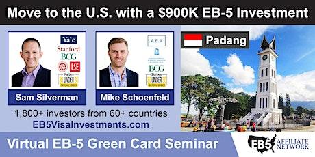 U.S. Green Card Virtual Seminar – Padang, Indonesia tickets