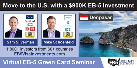 U.S. Green Card Virtual Seminar – Denpasar, Indonesia tickets