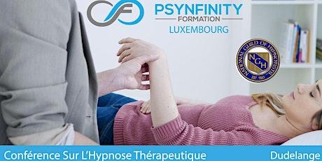 Conférence sur l'hypnose thérapeutique billets