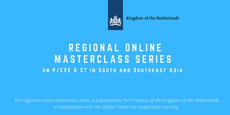Regional Masterclass Series on counterterrorism in South and Southeast Asia tickets