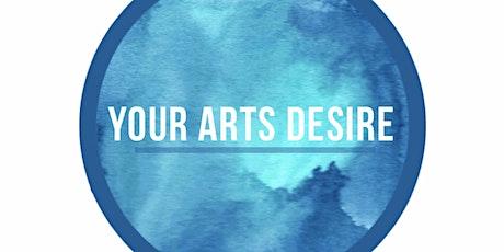 Resin Art Class tickets