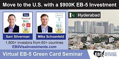 U.S. Green Card Virtual Seminar – Hyderabad, Pakistan tickets