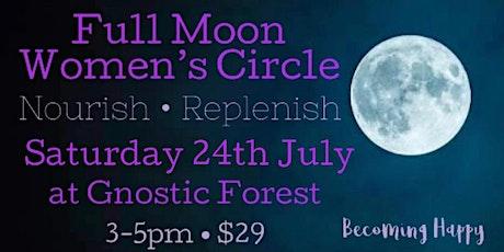 Full Moon in Aquarius Women's Circle - 24th July tickets