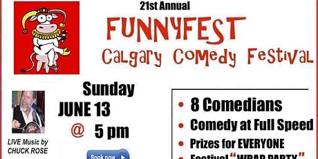 Sunday, June 13, 2021 @ 5 pm - Festival Wrap Party - 21st Annual FunnyFest tickets