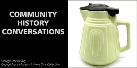 Community History Conversations 1 tickets