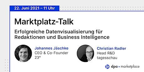 Marktplatz-Talk  #1 – Erfolgreiche  Datenvisualisierung Tickets