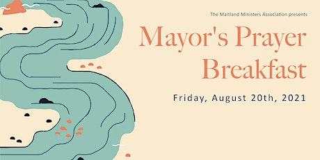 Maitland Mayor's Prayer Breakfast tickets