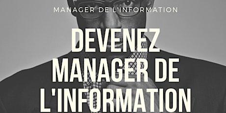 Rendez-vous EBD Manager de l'information numérique billets