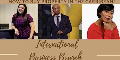 INTERNATIONAL BUSINESS BRUNCH tickets