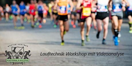 Lauftechnik Workshop mit Lauftechnik-Videoanalyse Tickets