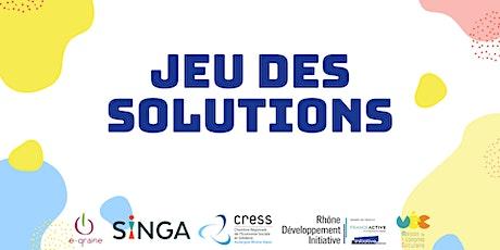 Jeu des solutions - Festival des entrepreneurs 2021 billets