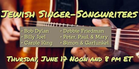 Jewish Singer-Songwriters (90-minute workshop) tickets