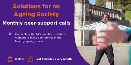 Solutions for an Ageing Society online peer support June tickets
