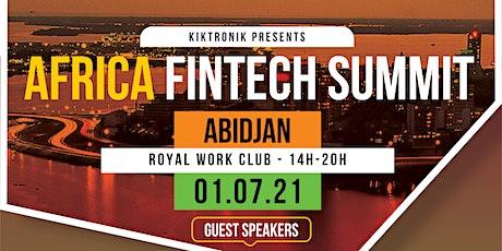 Africa Fintech Summit in Abidjan billets