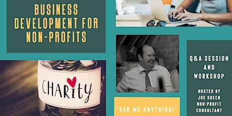 Business Development for Charities - Q&A Workshop tickets