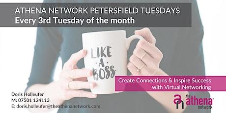 The Athena Network: Petersfield Group - Guest Speaker Kerstin Ochel tickets