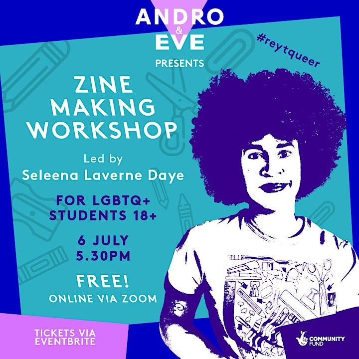 Zine Making Workshop image
