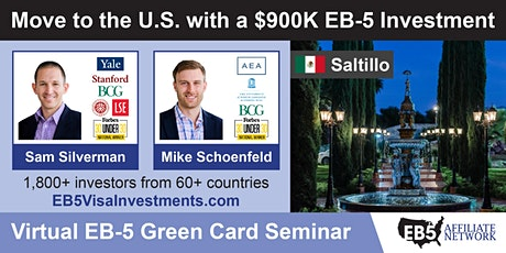 U.S. Green Card Virtual Seminar – Saltillo, Mexico tickets