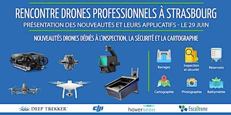 Rencontre drones aériens à Strasbourg - Outils techniques et utilisations billets