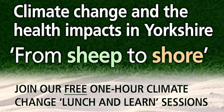 Climate Change Lunch and Learn Event 12 - 29 October 2021 tickets