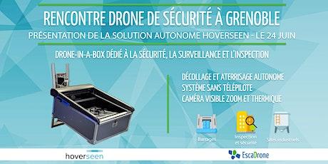 Hoverseen : Drone autonome pour la sécurité et l'inspection à Grenoble billets