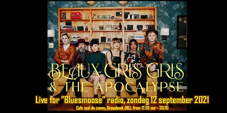 Beaux Gris Gris & the Apocalypse live at Bluesmoose Radio Tickets
