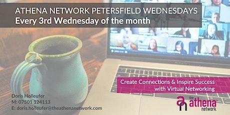 The Athena Network: Petersfield Wednesday - Guest Speaker Rachel Maunder tickets