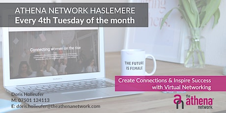 The Athena Network: Haslemere Group - Guest Speaker Debbie Dudley tickets