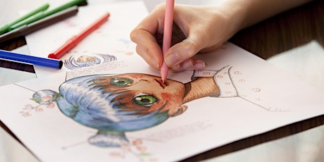 MANGA DRAWING WORKSHOP at Drouin Library MEETUP21 tickets