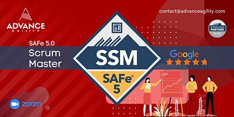SAFe 5.0 ScrumMaster (Online/Zoom)Sept-30-Oct-01,Thu-Fri,SingaporeTime(SGT) tickets