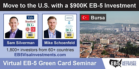 U.S. Green Card Virtual Seminar – Bursa, Turkey tickets