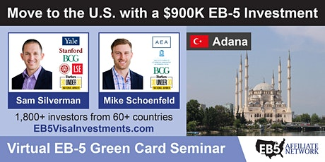 U.S. Green Card Virtual Seminar – Adana, Turkey tickets