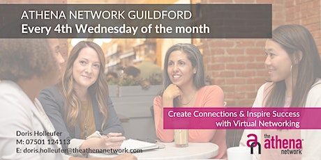 The Athena Network: Guildford Group - Guest Speaker Laura Nicole Brown tickets