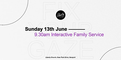 Sunday Gathering - 13th June 2021 9.30am (Interactive Family Service) tickets
