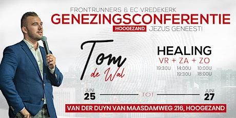 Genezingsconferentie Frontrunners & EC Vredekerk 25 t/m 27 juni tickets