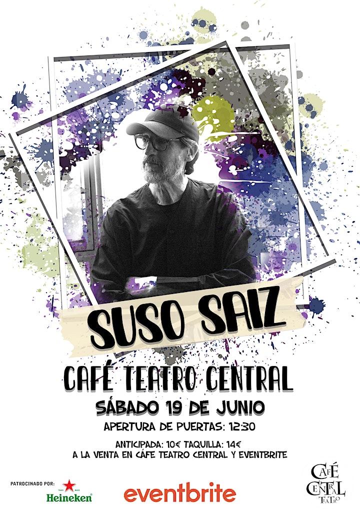 Suso Saiz en Café Teatro Central image