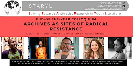 STARYL Colloquium: Archives as Sites of Radical Resistance tickets