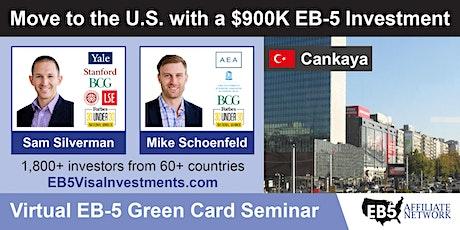 U.S. Green Card Virtual Seminar – Cankaya, Turkey tickets