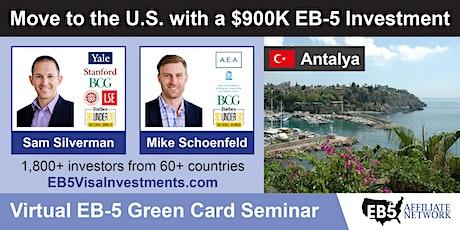 U.S. Green Card Virtual Seminar – Antalya, Turkey tickets