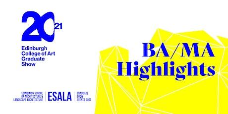 BA/MA Highlights tickets