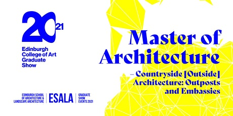 Master of Architecture – Countryside [Outside] Architecture tickets