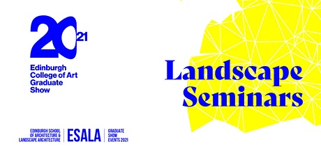 ESALA - Landscape Seminars tickets