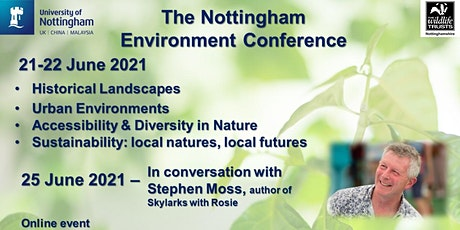 Nottingham Environment Conference 2021 tickets