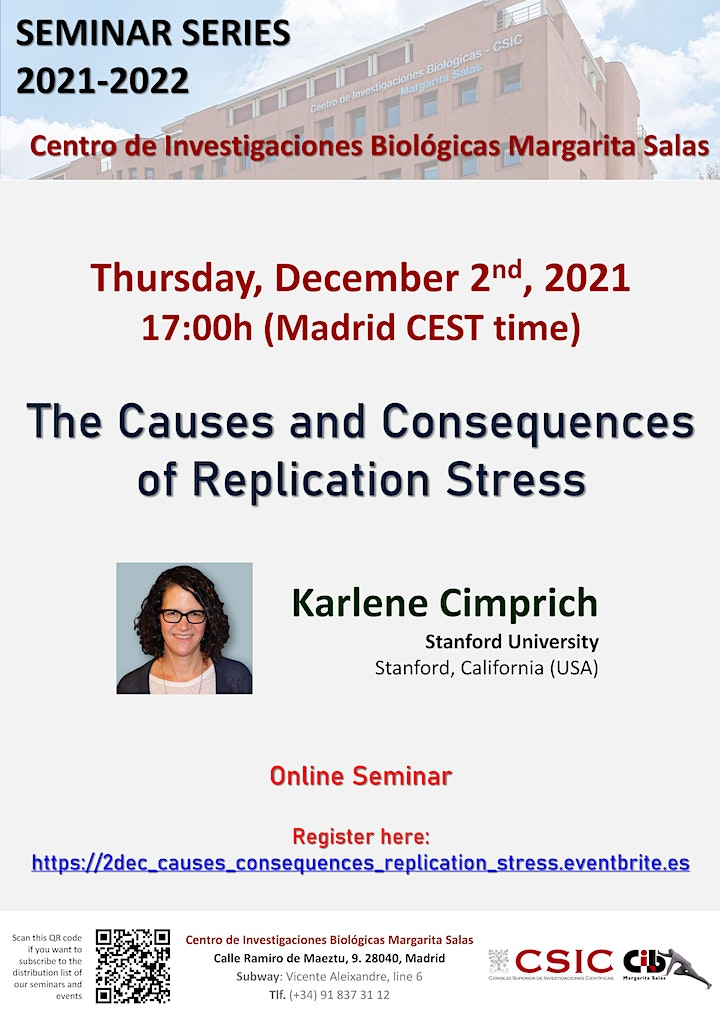 Imagen de The Causes and Consequences of Replication Stress